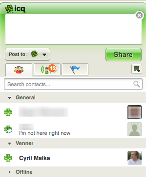 I got my ICQ account back - was hacked